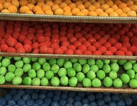 Colored Seed Balls